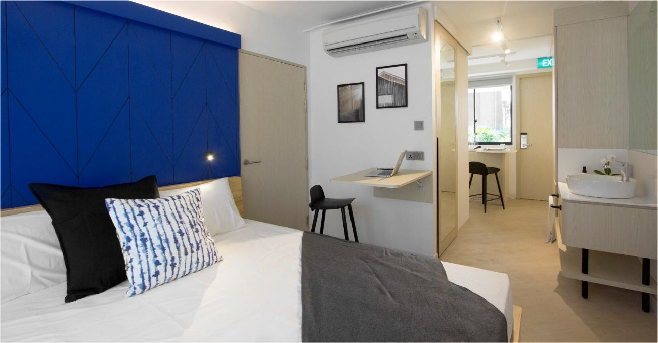 Fully Furnished Rooms in co-living spaces